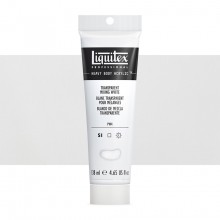Liquitex : Professional : Heavy Body Acrylic Paint : 138ml : Transparent Mixing White