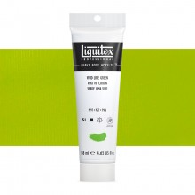 Liquitex : Professional : Heavy Body Acrylic Paint : 138ml : Vivid Lime Green