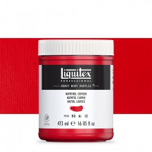 Liquitex : Professional : Heavy Body Acrylic Paint : 473ml : Naphthol Crimson