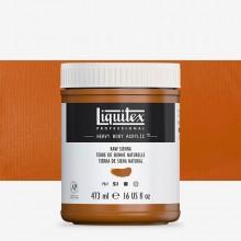 Liquitex : Professional : Heavy Body Acrylic Paint : 473ml : Raw Sienna