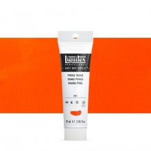 Liquitex : Professional : Heavy Body Acrylic Paint : 59ml : Pyrole Orange