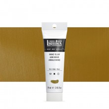 Liquitex : Professional : Heavy Body Acrylic Paint : 59ml : Bronze Yellow