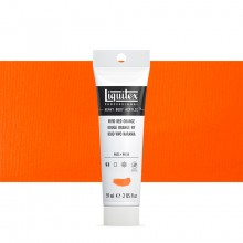 Liquitex : Professional : Heavy Body Acrylic Paint : 59ml : Vivid Red Orange