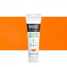 Liquitex : Professional : Heavy Body Acrylic Paint : 59ml : Cadmium Free Orange