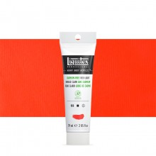 Liquitex : Professional : Heavy Body Acrylic Paint : 59ml : Cadmium Free Red Light