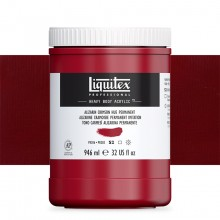 Liquitex : Professional : Heavy Body Acrylic Paint : 946ml : Alizarin Crimson Hue Permanent