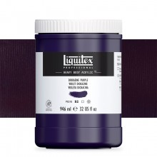 Liquitex : Professional : Heavy Body Acrylic Paint : 946ml : Dioxazine Purple