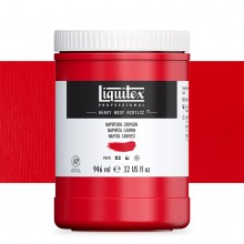 Liquitex : Professional : Heavy Body Acrylic Paint : 946ml : Naphthol Crimson