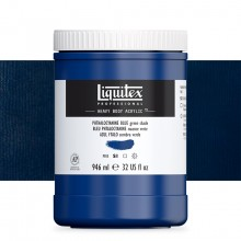 Liquitex : Professional : Heavy Body Acrylic Paint : 946ml : Phthalocyanine Blue Green Shade