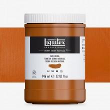 Liquitex : Professional : Heavy Body Acrylic Paint : 946ml : Raw Sienna