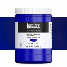 Liquitex : Professional : Heavy Body Acrylic Paint : 946ml : Ultramarine Blue (Green Shade)