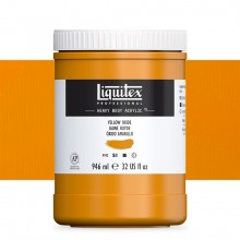 Liquitex : Professional : Heavy Body Acrylic Paint : 946ml : Yellow Oxide