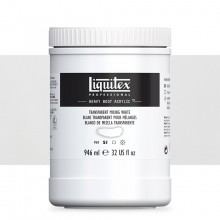 Liquitex : Professional : Heavy Body Acrylic Paint : 946ml : Transparent Mixing White