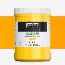 Liquitex : Professional : Heavy Body Acrylic Paint : 946ml : Cadmium-Free Yellow Medium