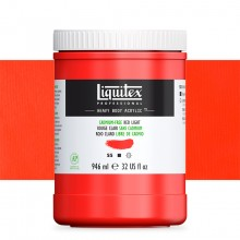 Liquitex : Professional : Heavy Body Acrylic Paint : 946ml : Cadmium-Free Red Light