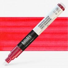 Liquitex : Professional : Marker : 2-4mm Chisel Nib : Quinacridone Crimson