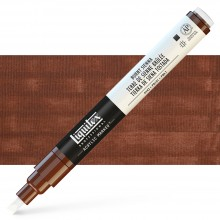Liquitex : Professional : Marker : 2mm Fine Nib : Burnt Sienna
