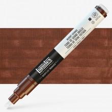 Liquitex : Professional : Marker : 2-4mm Chisel Nib : Burnt Sienna