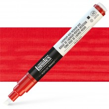 Liquitex : Professional : Marker : 2mm Fine Nib : Cadmium Red Medium Hue