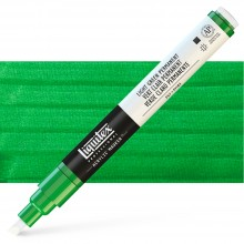 Liquitex : Professional : Marker : 2-4mm Chisel Nib : Light Green Permanent