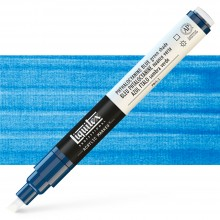 Liquitex : Professional : Marker : 2-4mm Chisel Nib : Phthalo Blue Green Shade