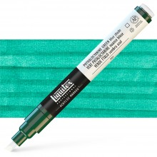Liquitex : Professional : Marker : 2-4mm Chisel Nib : Phthalo Green Blue Shade