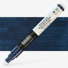 Liquitex : Professional : Marker : 2-4mm Chisel Nib : Prussian Blue Hue