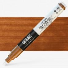 Liquitex : Professional : Marker : 2-4mm Chisel Nib : Raw Sienna