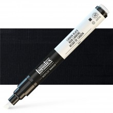 Liquitex : Professional : Marker : 2-4mm Chisel Nib : Carbon Black