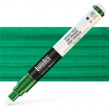 Liquitex : Professional : Marker : 2-4mm Chisel Nib : Emerald Green