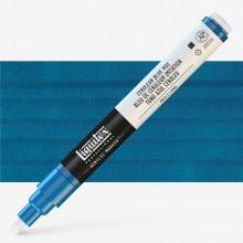 Liquitex : Professional : Marker : 2-4mm Chisel Nib : Cerulean Blue Hue