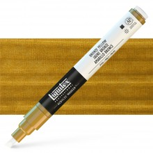 Liquitex : Professional : Marker : 2-4mm Chisel Nib : Bronze Yellow