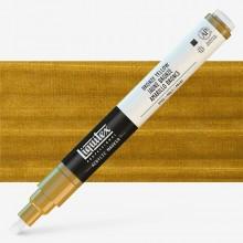 Liquitex : Professional : Marker : 2-4mm Chisel Nib : Bronze Yellow