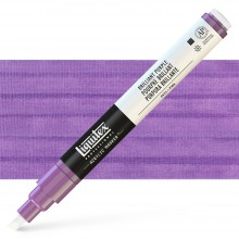 Liquitex : Professional : Marker : 2-4mm Chisel Nib : Brilliant Purple