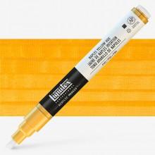 Liquitex : Professional : Marker : 2-4mm Chisel Nib : Naples Yellow Hue