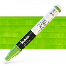 Liquitex : Professional : Marker : 2-4mm Chisel Nib : Vivid Lime Green