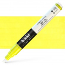 Liquitex : Professional : Marker : 2-4mm Chisel Nib : Fluorescent Yellow