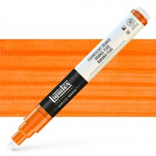 Liquitex : Professional : Marker : 2-4mm Chisel Nib : Fluorescent Orange