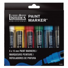 Liquitex : Professional : Marker : Set 6x15mm Nib