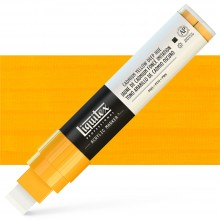 Liquitex : Professional : Marker : 15mm Wide Nib : Cadmium Yellow Deep Hue
