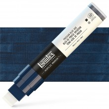 Liquitex : Professional : Marker : 15mm Wide Nib : Prussian Blue Hue