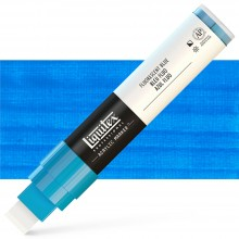Liquitex : Professional : Marker : 15mm Wide Nib : Fluorescent Blue