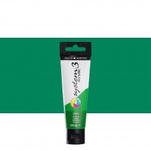 Daler Rowney : System 3 Acrylic Paint : 59ml : Emerald