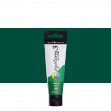 Daler Rowney : System 3 Acrylic Paint : 59ml : Phthalo Green