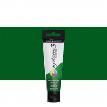 Daler Rowney : System 3 Acrylic Paint : 59ml : Oxide Of Chromium Green