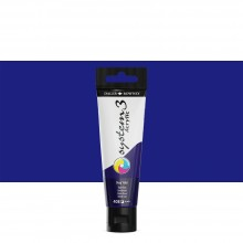 Daler Rowney : System 3 Acrylic Paint : 59ml : Deep Violet