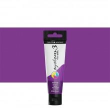 Daler Rowney : System 3 Acrylic Paint : 59ml : Velvet Purple