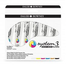 Daler Rowney : System 3 : Heavy Body : 59ml : Process Set of 6