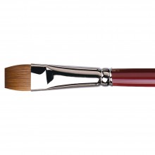 Da Vinci : Kolinsky Red Sable : Oil Brush : Series 1810 : Bright : Size 14