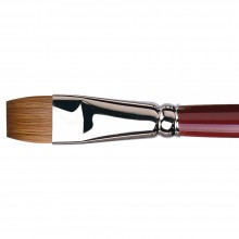 Da Vinci : Kolinsky Red Sable : Oil Brush : Series 1810 : Bright : Size 16
